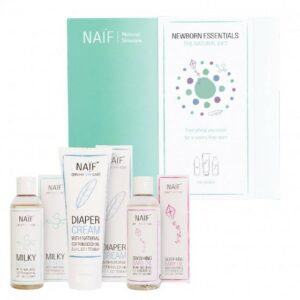 Naif newborn essentials cadeauset